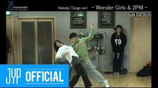 "[Undisclosed clip] Wonder Girls & 2PM ""Nobody Tango ver."" MKMF2008 #4"