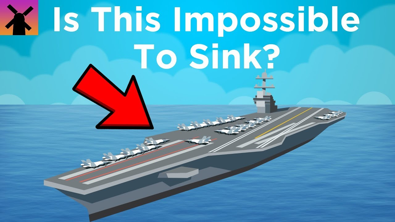 Why It Might Be Impossible to Sink This $13 Billion Ship - Why It Might Be Impossible to Sink This $13 Billion Ship