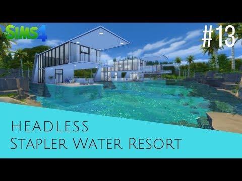 The Sims 4 Speed Build #13 Stapler Water Resort