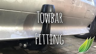Fitting a tow bar to our BMW 5 series tourer