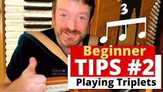 Celtic piano accordion tips - Learn How to play Triplets on Piano Accordion