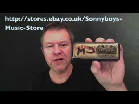 Filisko custom harmonica in C minor review from playharmonica.co.uk