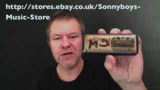 Filisko custom harmonica in C minor review from playharmonica.co.uk