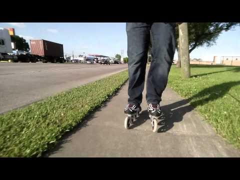 #3 Testing K2's Radical inline skates 100 mm wheels