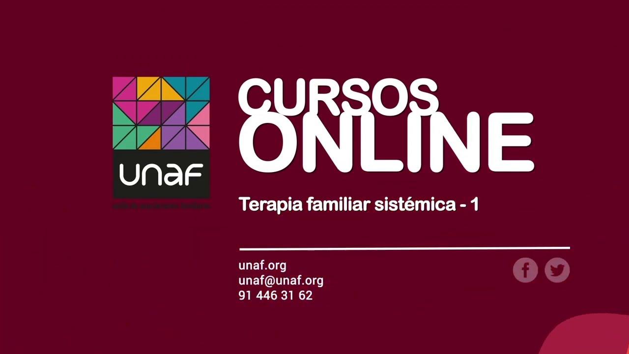 Curso online de Terapia familiar sistémica. Nivel 1 (9ª Ed.)