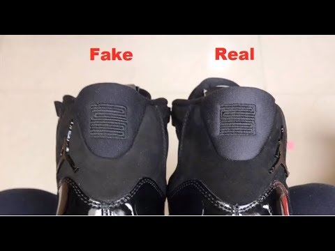 e6172955fd1b Jordan 11 Prom Night Cap and Gown REAL vs FAKE