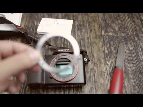 Меняю кольцо байонета у SONY A7 с родного пластмассового на металлическое
