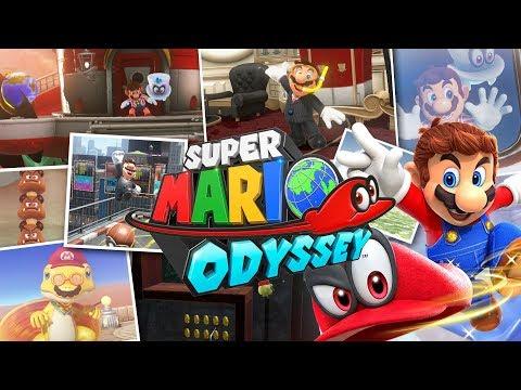 Dingen waar je vrolijk van wordt in Super Mario Odyssey