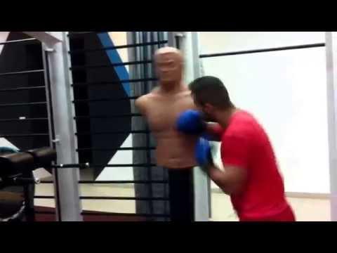 Boxing whit Bob bag Ciula Adrian