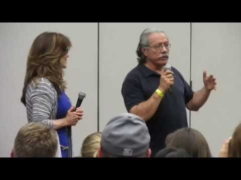 Edward James Olmos Discusses Taking His Costumes From BSG