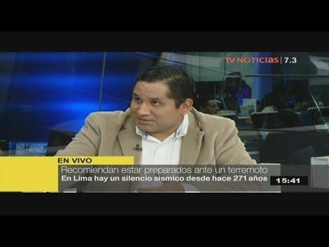 Ingeniero geógrafo analiza la situación de Lima ante un sismo