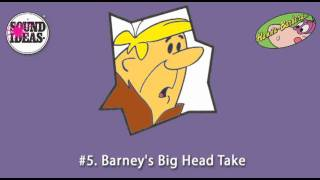 Hanna-Barbera Top 10 Sound Effects by Sound Ideas