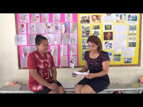 สัมภาษณ์เพื่อนครูผู้ดูแลเด็ก