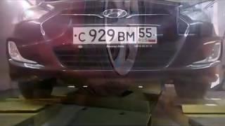 видео Диагностика ходовой на стенде в Барнауле. Стоимость услуг полной компьютерной диагностики ходовой на вибростенде