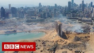 Beirut explosion: Exploring the damage after the blast - BBC News