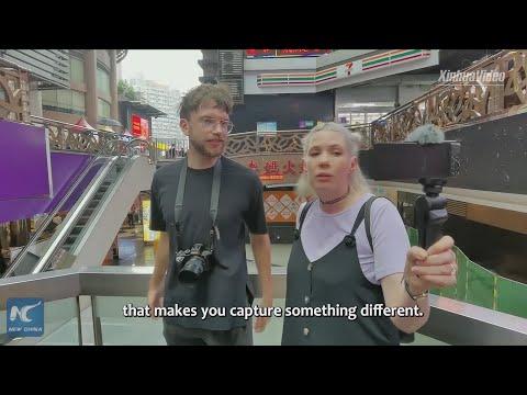 "Vlog: British Youtuber couple explores China's ""Mountain City"" Chongqing"