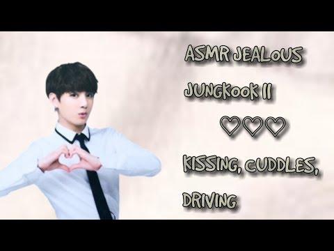 ASMR JEALOUS JUNGKOOK || KISSING, CUDDLES, DRIVING - YouTube