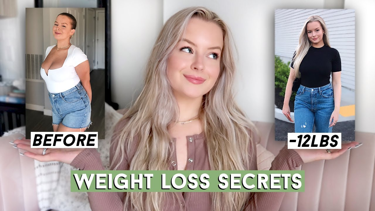 10 EASY TIPS TO LOSE WEIGHT THAT ACTUALLY WORK! How I started losing weight…