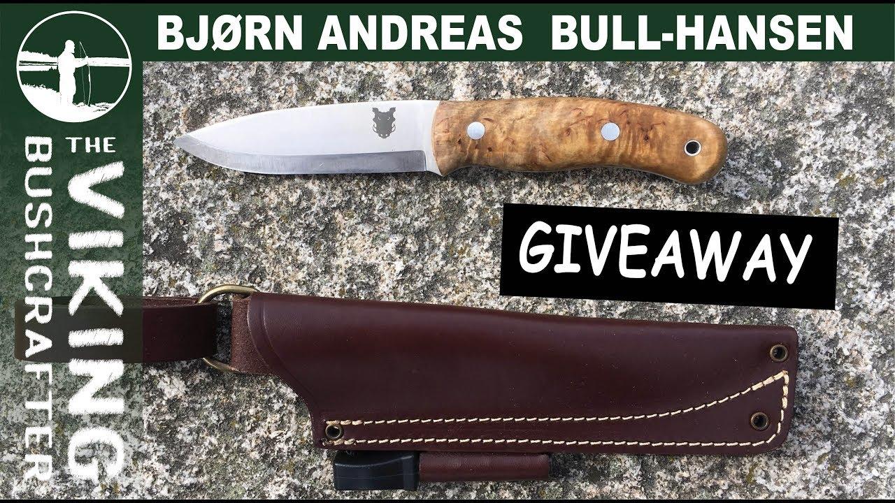 finished tbs boar bushcraft knife giveaway  3000