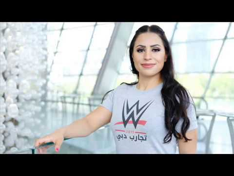 WORLD WRESTLING ENTERTAINMENT SIGNS FIRST FEMALE PERFORMER FROM ARAB WORLD(SHADIA BSEISO)
