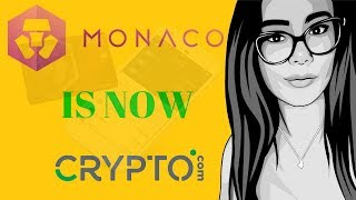 Monaco And The $10 MILLION Rebrand To CRYPTO.COM! HUGE Altcoins & Visa Future And MCO Crypto Review!
