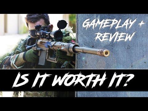 HUGE Sniper Rifle | Review + Gameplay | Swamp Sniper
