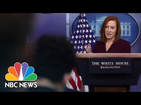 White House Holds Press Briefing On J&J Vaccine Pause | NBC News