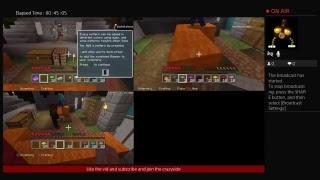 Playing  minecraft|minecraft |