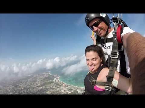 Birthday Skydive in Aruba