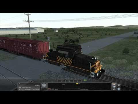 Train Simulator 2017 - [SN GE650] Cattle to Oakland Part 1 - 4K UHD