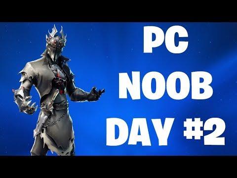 PC NOOB PLAYER | DAY 2 | FORTNITE LIVE STREAM