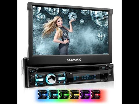 Xomax XM-DTSB925 Autoradio Moniceiver USB Touchscreen MP3 Radio