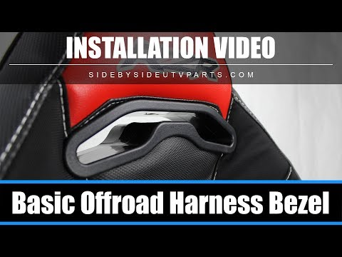 Side by Side - Installation Video - Basic Off-Road Harness Pass Through Bezel