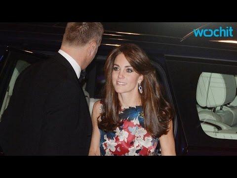 Kate Middleton Stuns at Black-Tie Gala