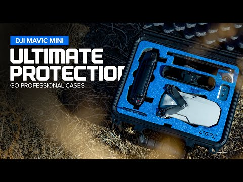 Ultimate DJI Mavic Mini Protection - Go Professional Cases + GIVEAWAY