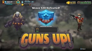 GUNS UP! - Wave 520 (Colonel, Rocketeer, Bombardier combo)