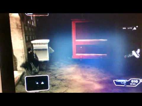 Deus Ex Human Revolution gameplay Xbox 360 webcam video