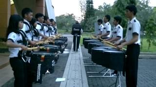 Buttermilk - Drumline from Marching Band Bontang PKT.mp4