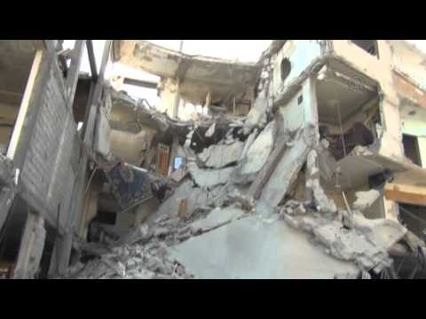 Russian airstrikes in Damascus 1