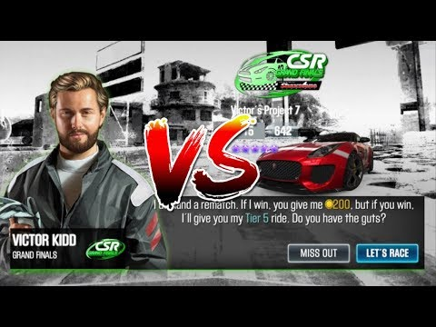 Repeat CSR Racing 2 Legends Victor Kidds car for Free by
