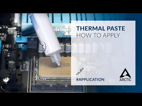 how to apply thermal