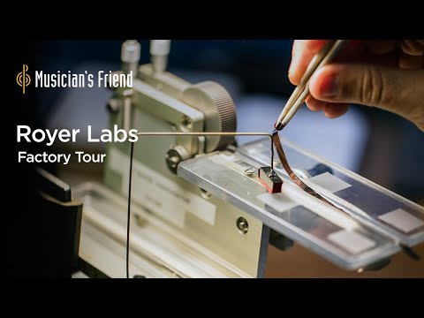 A Factory Tour of Ribbon Microphone Manufacturer Royer Labs
