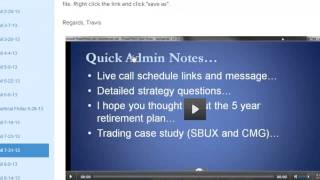 Trading Options for Monthly Income - Trader Travis 2013 Performance
