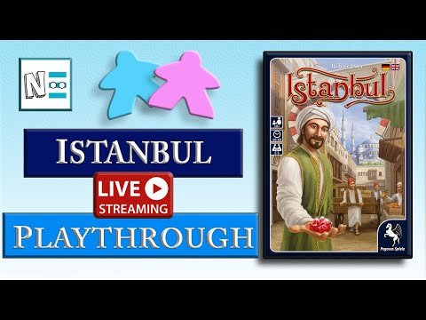 ISTANBUL - Teach and Playthrough - Live Board Game Video