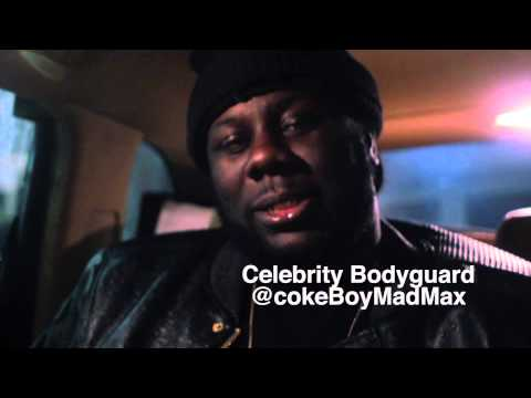 NYLA TV Interview French Montana Body Guard Max