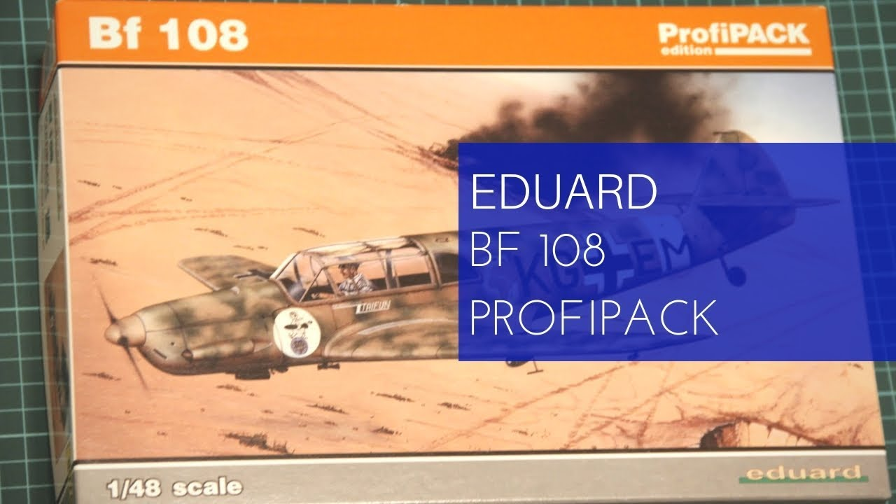 Eduard Models 1//48 Messerschmitt Bf-108 Taifun ProfiPACK Edition