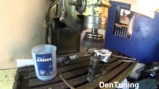 Пелюстковий клапан, обробка корпусу