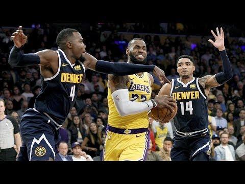 LeBron Triple Double! Nuggets 1st Loss of Season! 2018-19 NBA Season