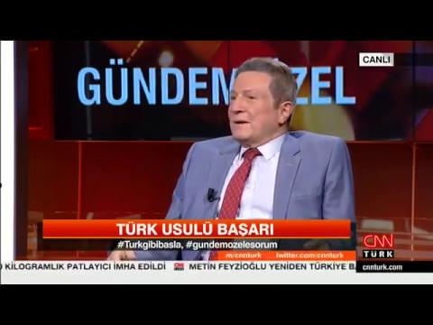 Prof. Dr. Acar Baltaş CNN TÜRK'te Deniz Bayramoğlu'nun sunduğu Gündem Özel programının konuğuydu