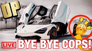 They say you can't outrun the cops... MCLAREN 720S SAYS CATCH ME IN POLICE CHASE! SUPER CAR VS COP ✅